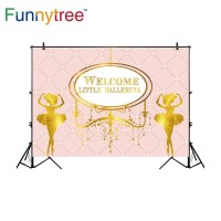 Funnytree photography backdrops pink rhombus luxury welcome little