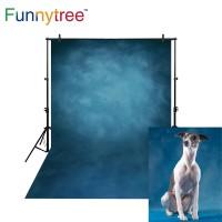 Funnytree photography backdrops dark blue pure color thin vinyl
