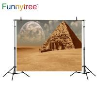 Funnytree photography backdrops pyramid background egypt fantasy