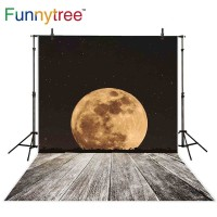 Funnytree photography backdrops old wood floor beautiful yellow full