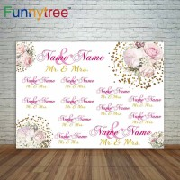Funnytree photography backdrops photographic custom wedding painted