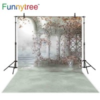 Funnytree wonderland palace photography backdrop wedding flower