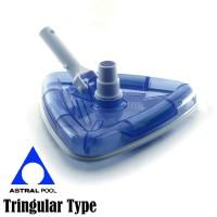 Vacuum Head Triangular Astral Pool (Vacuum Head Segitiga)