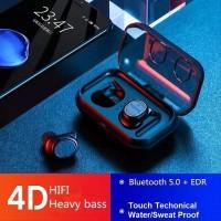 True Wireless 4D Bass HiFi Headset Bluetooth 5.0 TWS 8 Sport Wireless
