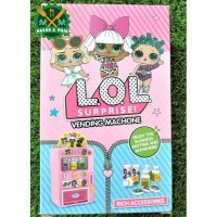 J975 901 669 3521 1 LOL Vending Machine Mainan Anak Perempuan Edukasi