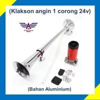 KLAKSON MOBIL 1 CORONG KOMPLIT DINAMO ELEKTRIK. AIR HORN TANPA ANGIN