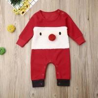 Jumper merah bayi santa claus christmas edition