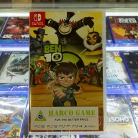 KASET NINTENDO SWITCH BEN 10