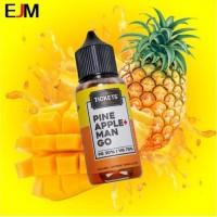 EJM Liquid Tickets Brew Pineapple Mango 60ML - Ticket Brew Pineapple