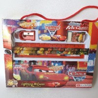 Stationery set 6 in 1 Pencil Box Alat Tulis Anak