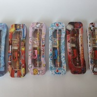 Stationery Set With Pencil Box Alat Tulis Anak