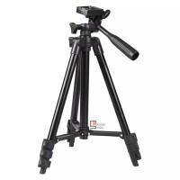 WEIFENG WT3110A WT3120A Camera Tripod With 3-Way Head - Hitam