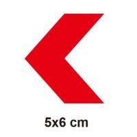 Stiker Cutting Nyala Motif Panah