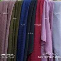 Hijab Daily Square Material Potton Stars