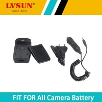 LVSUN 1.2-8.4V 800mA FP50 battery with USB Digital Camera Charger