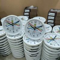 Jam Meja/Jam Dinding Promosi Custom Order Tenaris Lubuk Baja