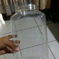 Toples plastik 4L ( tampa tutup ) , buat ikan , kue, dll