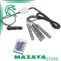 SAARMAT Lampu LED Car Interior Light 5050 RGB   Remote - APPFWD1