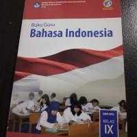 Jual Buku Buku Guru Bahasa Indonesia Kelas 9 Smp Revisi 2018 Jakarta Barat Nardi Items Tokopedia