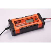 Daytona DYT Battery Charger, LCD 6/12 Volt, 1 Ah, 9 Steps