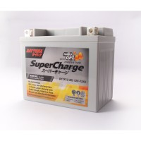 Aki Daytona Pro Series Supercharge Nano Gel Battery DTX12-BS-12Ah