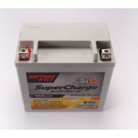 Aki Daytona Pro Series Supercharge Nano Gel Battery DTX4L-BS-5Ah 3663
