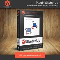 s4u Reset Axis Extension SketchUp Original License dan Support
