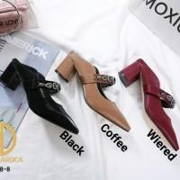 JOSE DAROCA Mary Jane Mule Shoes Series # B218-8 #