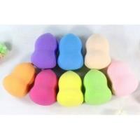 Sponge Make Up / spon bedak / beauty blender pear shaped - Cokelat tua