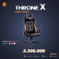 Kursi Gaming Digital Alliance Throne X Black Orange   By Astikom