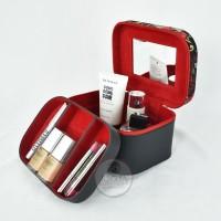 Balck Flower Tempat Make up / Tas Kosmetik / Beautycase /Cosmetic Case