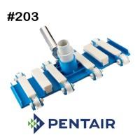 Vacuum Head Pentair #203 Flex 8 Roda - RA 201070