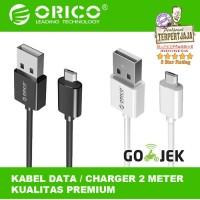 KABEL DATA CHARGER ORICO ADC 20 Micro USB Kabel Casan 2 Meter
