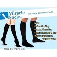 Miracle Socks Anti Fatigue Kaos Kaki Anti Lelah