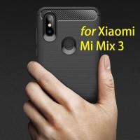 Xiaomi Mi Mix 3 Mi Mix3 - Rugged Armor Premium Fiber Carbon Case
