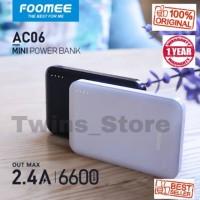 Powerbank FOOMEE AC06 6600mAh 2.4A