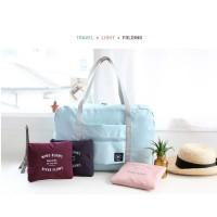 Korean Easy Travel Bag foldable Tas travel hand carry