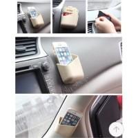Pillar pocket car storage box card pocket
