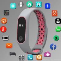 Terlaris 2019 Gelang Sport Smart Watch Wanita Jam Tangan Digital LED