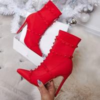 Boots wanita berkain Sutra