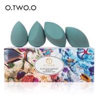 O.TWO.O 9932 4 pcs Sponge Makeup Puff Foundation Concealer