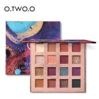 O.TWO.O 9996 Palet Eyeshadow 16 Warna Matte Shimmer