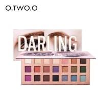 O.two.o 9994 Eyeshadow Kosmetik Makeup Isi 38 Warna Shimmer 21 Palet