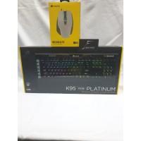 Corsair K95 Platinum + M65 RGB Elite Garansi Resmi DTG 2 Tahun
