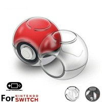 Transparant Clear Crystal Hard Case Poke Ball Pokeball Plus Nintendo