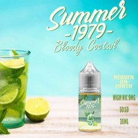 Summer 1979 Bloody Cocktail Pods Friendly 30ML 100% Authentic Liquid
