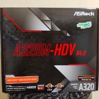 ASRock A320M-HDV R4.0 AM4 AMD Promontory A320 SATA 6Gb/s USB 3.1 HDMI