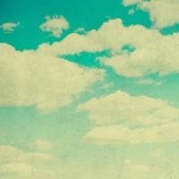 HUAYI blue green sky Backdrop-backgrounds for photo studio-newborn