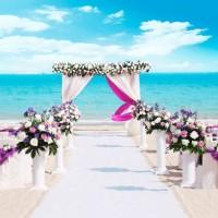 HUAYI blue sky photography backdrop art fabric photo background sea