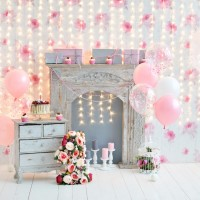 LIFE MAGIC BOX Photography Backdrops Vinyl Happy Birthday Backdrop